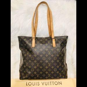 Authentic Louis Vuitton Cabas Mezzo #7.2R